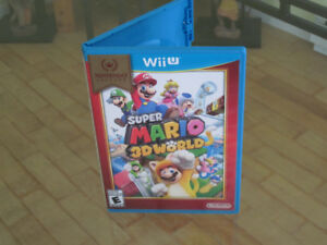 Mario 3D World wiiu