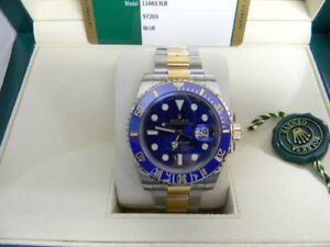 FS: ROLEX SUBMARINER BLUE model 116613 Bought April, 2017!