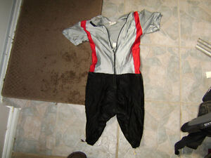 Cycling skin suit