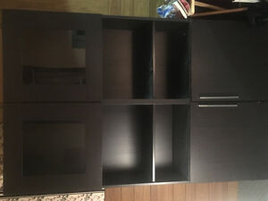 2pc Shelving/Cabinets