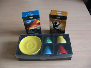 MARTELLO ESPRESSO PODS & CUPS AND SAUCERS SET