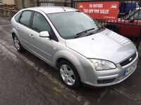 2007 (57) FORD FOCUS TDCI, 1 YEAR MOT, WARRANTY, NOT ASTRA MEGANE GOLF A3 V40 NOTE