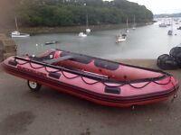 Quicksilver 380hd boat