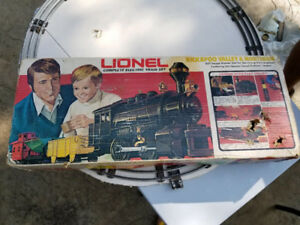 collectible Lionel Train