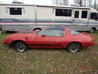1980 Camaro Z 28 PROJECT CAR