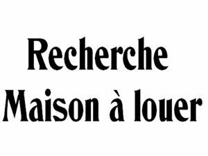 Cherche maison à louer à Boucherville