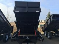 Dump Trailer Rentals, Sales and Leasing