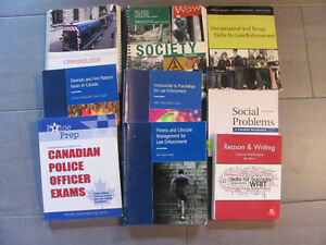 Fanshawe Police Foundations Books 1st Year