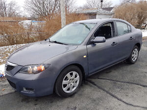 Only 100k,2007 Mazda3 Auto, Air, Loaded New 2yr. MVI