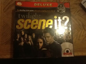 Twilight SceneIT DVD / Board Game