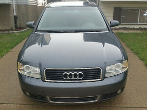 2004 Audi A4 Quattro All Wheel Drive Sedan