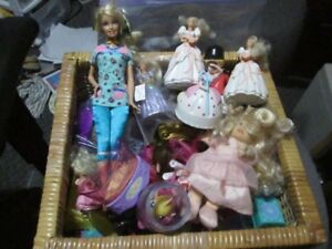 mixture of toys for girls