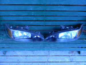 Ford Escort Headlights (Black)