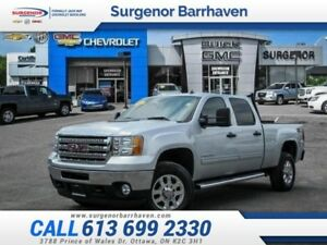 2012 GMC Sierra 2500HD SLE  Crew Cab-4x4-Diesel-One Owner