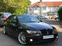 2007 Black BMW 320D M Sport Coupe Auto E92 MSport Automatic Diesel 2 Door