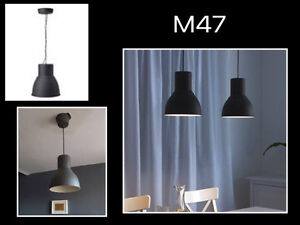 New Ikea Hecktar steel Pendant lights