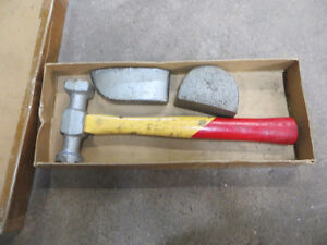 Body work hammer and tool