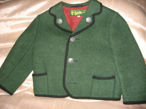 Austrian wool child's jacket / manteau pour enfant
