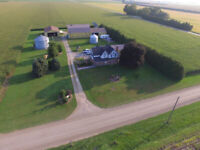 Want a Beautiful Aerial Pic of your House or Farm!