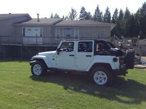 Jeep Wrangler unlimited limited Arctic edition