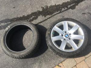 2 set de pneus 205/50/R17 Pneus pour BMW serie 3