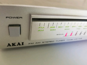 Rare vintage Akai UC-K2 analog tuner from the UC-2 mini system