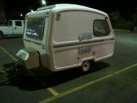 Rare, 13 ft. 1986 Cadet Trailer- Fibreglass