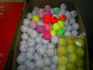 golf balls of all colors