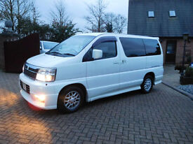 2001 Nissan Elegrand 4x4 4WD All Mode 3.0 Litre Auto Diesel 8 Seater