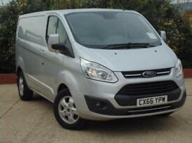 2016 Ford Transit Custom 290 L1 H1 Limited Van 130 PS Euro 6 Engine 4 door Pa...