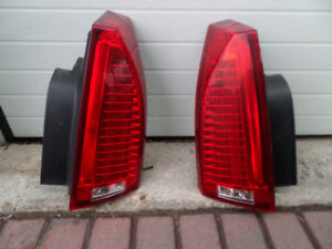 2008-2013 Cadillac CTS Tail Lights, Airbag and RH Headlight