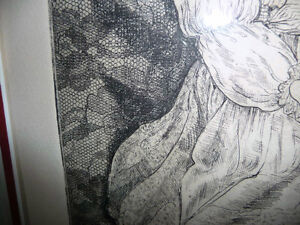 "Dundas Artist Helen Ness, ""Last Doll #2""   L/E 15/15,1980 Stratford Kitchener Area image 7"