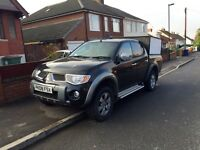 2008 08 MITSUBISHI L200 2.5 TD ANIMAL 4x4 TWIN CAB PICK-UP