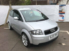 Audi A2 1.6 Fsi Sport, 12 Service Stamps, Air Con, Alloys, 12 Month Mot, 3 Month Warranty