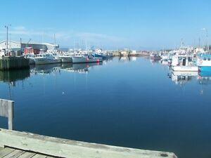 Welcome to Cheticamp,Cabot Trail.Cape Breton Island.