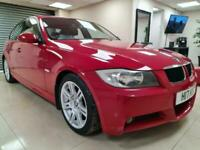 BMW 3 Series 2.0 320d M Sport Red One Owner 161BHP DIESEL WARRANTY 12 MONTHS MOT