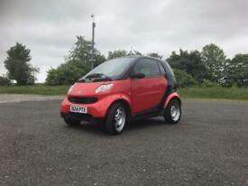 2004 Smart Fortwo Coupe Pure Softip (50bhp) 39k Miles 0.7