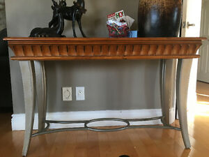 3 piece coffee table, end table and sofa table