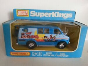 Super Kings Matchbox,K-80,Dodge Custom Van,Sealed