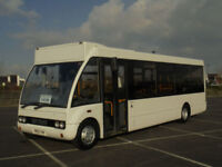 2003 53 OPTARE SOLO M850 AUTO 26 SEATER MINI BUS COACH WHEELCHAIR ACCESSIBLE