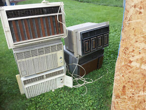 WINDOW AIR CONDITIONERS and PORTABLES