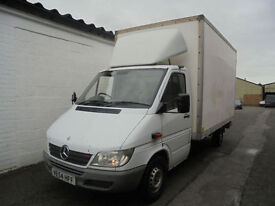 MERCEDES BENZ SPRINTER 311CDI BOX VAN LWB (54 Reg)