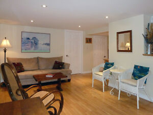 NDG:Great lrg FURNISHED all INCLUSIVE 2 bdrm Steps to Concordia