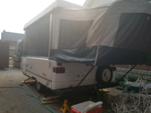 2002 Coleman tent trailer with furnace