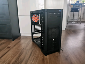 Corsair pc case with 2 fans and dvd