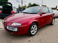 2003 Alfa Romeo 147 1.9JTD Lusso 12 Months AA WARRANTY Full Service History Long