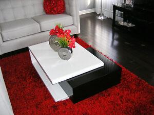 Table de salon style moderne