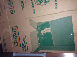 U-Haul Clothing Moving Boxes