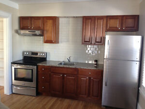 Downtown living at its best .. large bright pet friendly 2 level