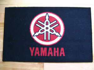 "Door mats (carpets) 19"" X 29"" with Vintage snowmobile logo"